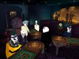 Grim Fandango Windows Interior of Cafe Calavera. People of different professions are united by their passion to gambling