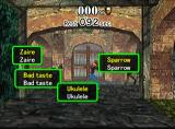 The Typing of the Dead Dreamcast Drill Mode Game