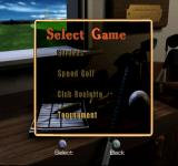 """Peter Jacobsen's Golden Tee Golf PlayStation Select Game. Skins and Bingo Bango Bongo are not available for """"One Player"""". Obviously."""