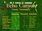 """Peter Jacobsen's Golden Tee Golf PlayStation Quit... and the """"Game Summary"""" appears..."""