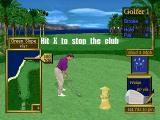 Peter Jacobsen's Golden Tee Golf PlayStation Game mode - Club Roulette. Course - Coral Ridge.