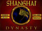 Shanghai: Dynasty Windows Main screen