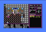 The Magic Candle: Volume 1 Commodore 64 This is the first screen of actual gameplay. You wander the castle, getting used to the controls and preparing for you mission.