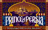 Prince of Persia DOS Title Screen