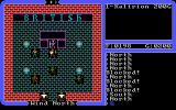 Ultima IV: Quest of the Avatar DOS Lord British is looking good as usual (EGA)