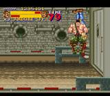Final Fight 2 SNES Haggar performing a spinning pile driver