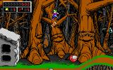 Commander Keen 4: Secret of the Oracle DOS Jumping through trees! (EGA)