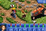 The Sims: Bustin' Out Game Boy Advance On the farm with Uncle Hayseed