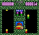 Dr. Robotnik's Mean Bean Machine Game Gear Scenario mode. Score more points than your computer opponent