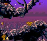 The Lion King SNES Down to the elephants' graveyard...