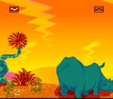 The Lion King SNES Animals level