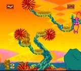 The Lion King SNES The monkeys are waiting for you. You can roar at the pink monkeys to make them face another direction