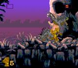 The Lion King SNES Fighting two hyenas at once