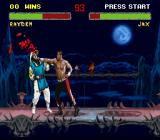 Mortal Kombat II SNES Sorry, but I think your nose is bleeding - can I help you?