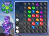 Bejeweled 2 Deluxe Windows Puzzle mode also features rocks and time bombs