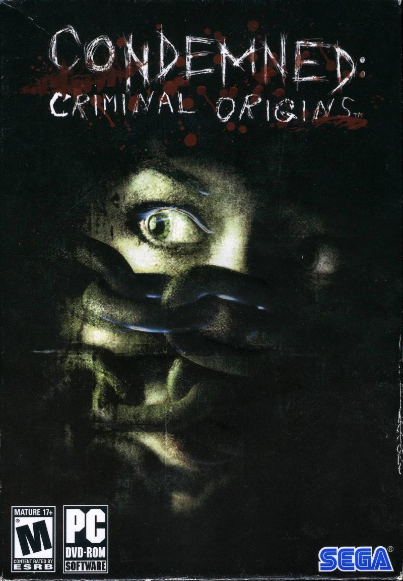 Condemned: Criminal Origins Windows Front Cover