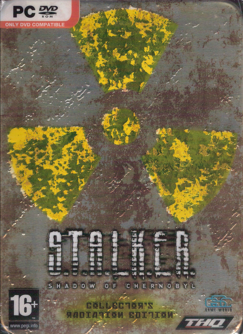 S.T.A.L.K.E.R.: Shadow of Chernobyl (Limited Edition) Windows Front Cover
