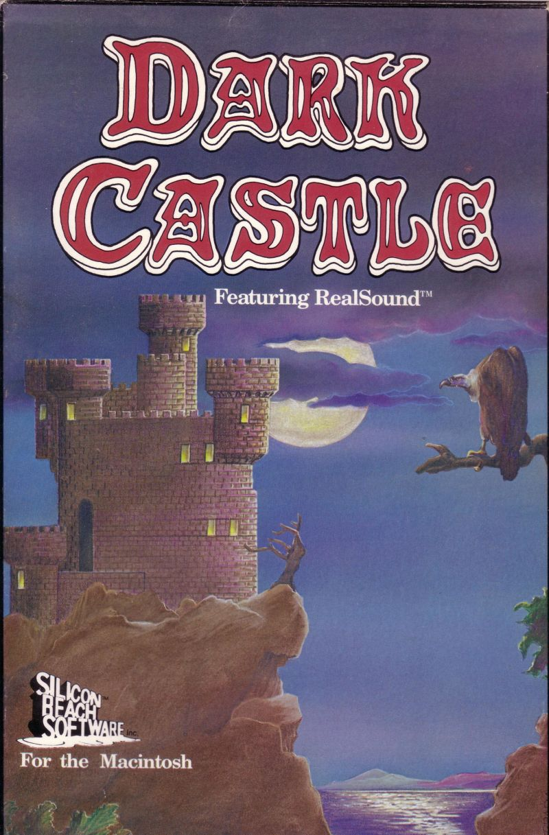 Dark Castle Macintosh Front Cover