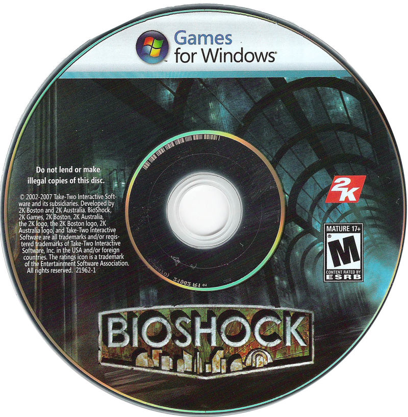 BioShock Windows Media