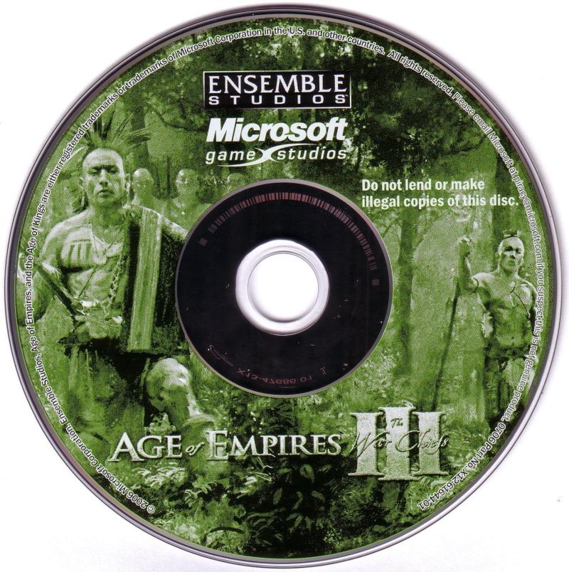 Age of Empires III: Gold Edition (2007) Windows box cover
