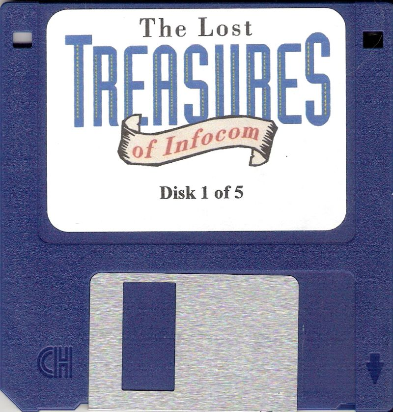 The Lost Treasures of Infocom DOS Media Disk 1/5
