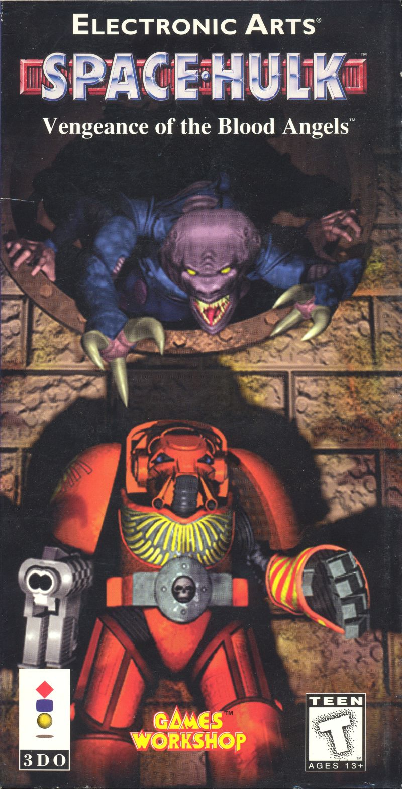 Space Hulk: Vengeance of the Blood Angels 3DO Front Cover