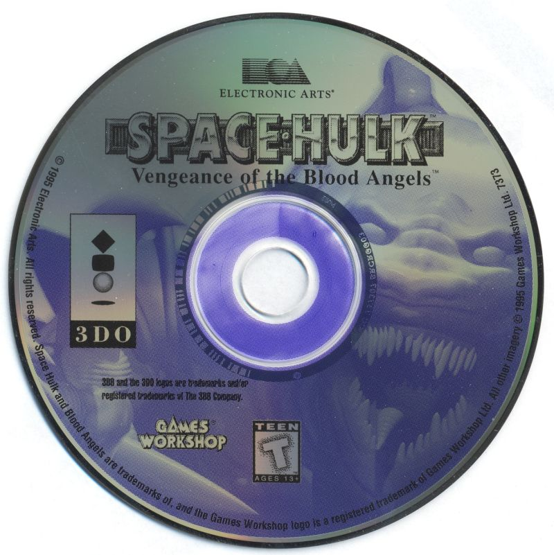 Space Hulk: Vengeance of the Blood Angels 3DO Media