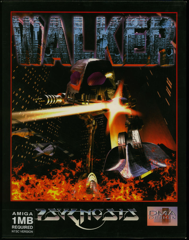 Walker Amiga Front Cover