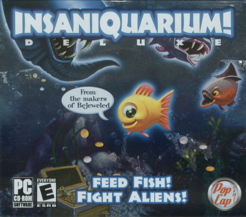 Insaniquarium! Deluxe Windows Front Cover