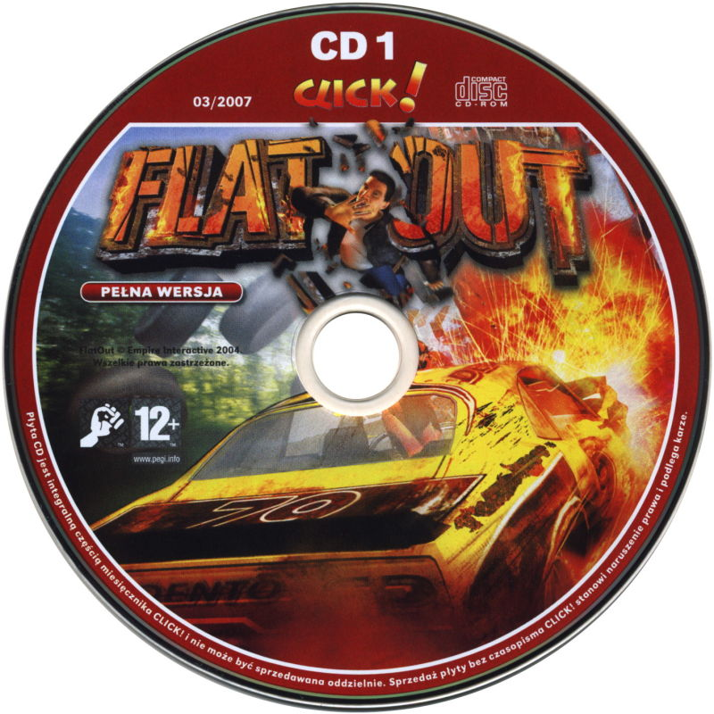 FlatOut Windows Media Disc 1