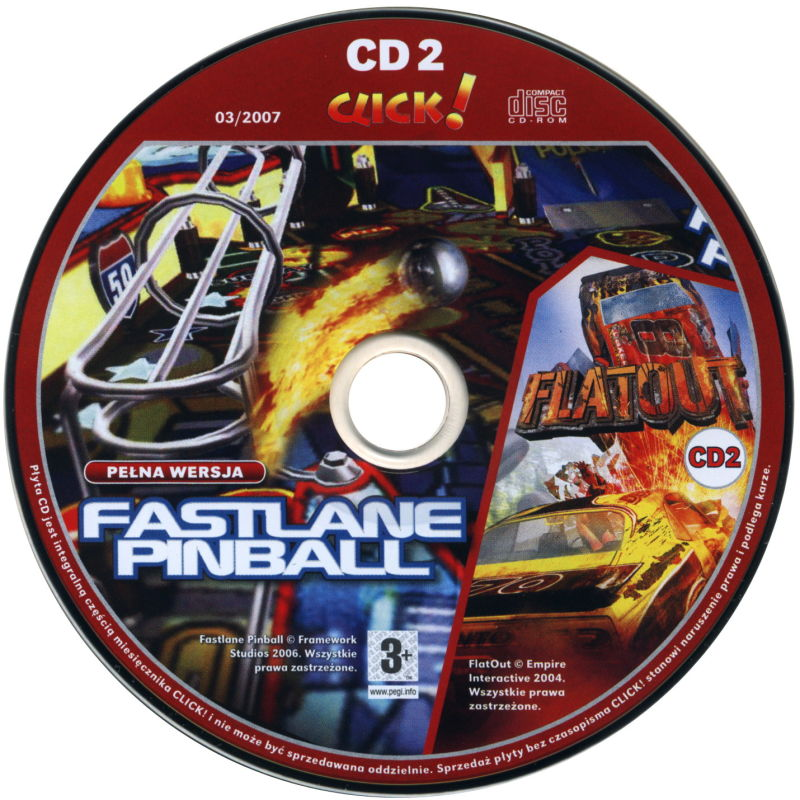 FlatOut Windows Media Disc 2