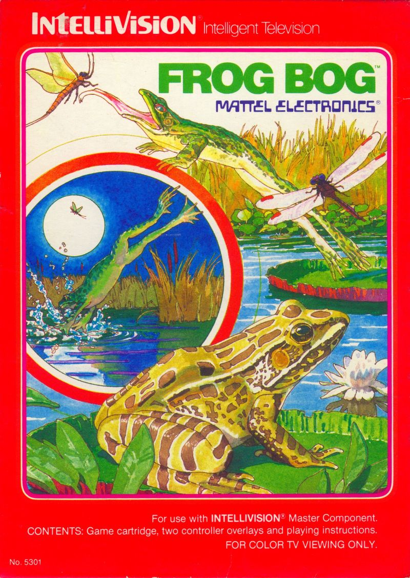 Frog Bog Intellivision Front Cover