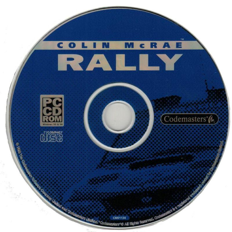 Colin McRae Rally Windows Media