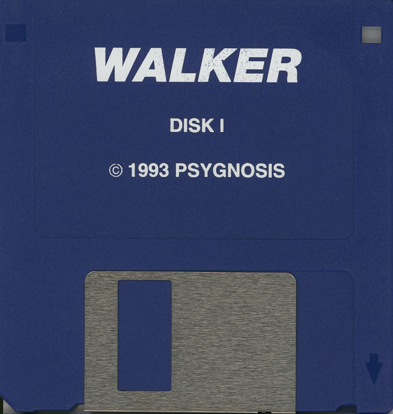 "Walker Amiga Media 3.5"" Floppy Disk, Disk 1 of 3"
