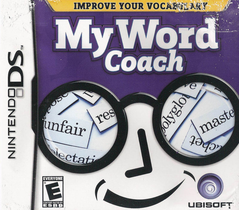 My Word Coach Nintendo DS Front Cover
