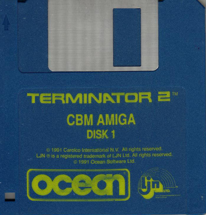 Terminator 2: Judgment Day Amiga Media Disk 1/2