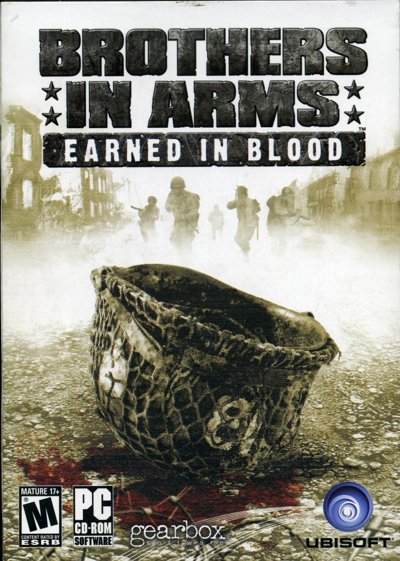 Brothers in Arms: Earned in Blood Windows Front Cover