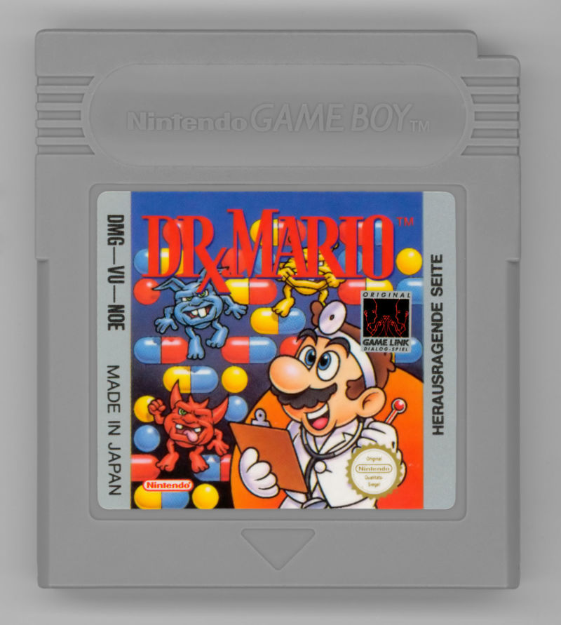 Dr. Mario Game Boy Media