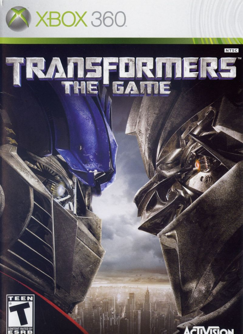 Transformers: The Game for Xbox 360 (2007) - MobyGamesXbox 360 Games Covers