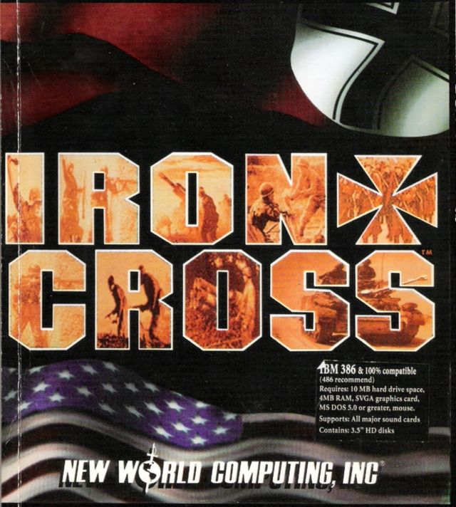 Iron Cross DOS Front Cover