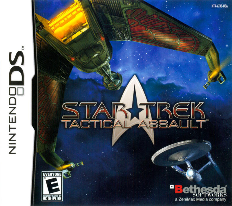 Star Trek: Tactical Assault Nintendo DS Front Cover