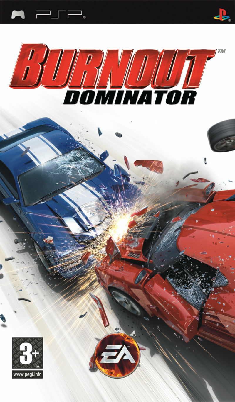 Burnout: Dominator PSP Front Cover