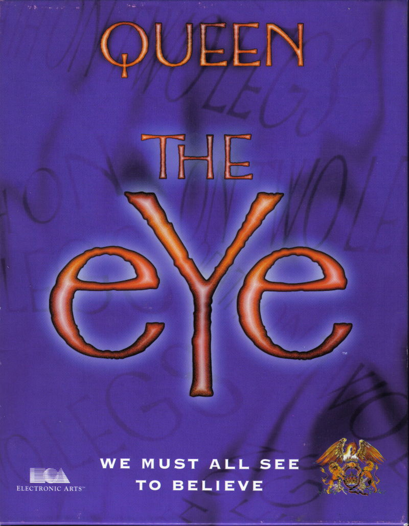 Queen: The eYe DOS Front Cover