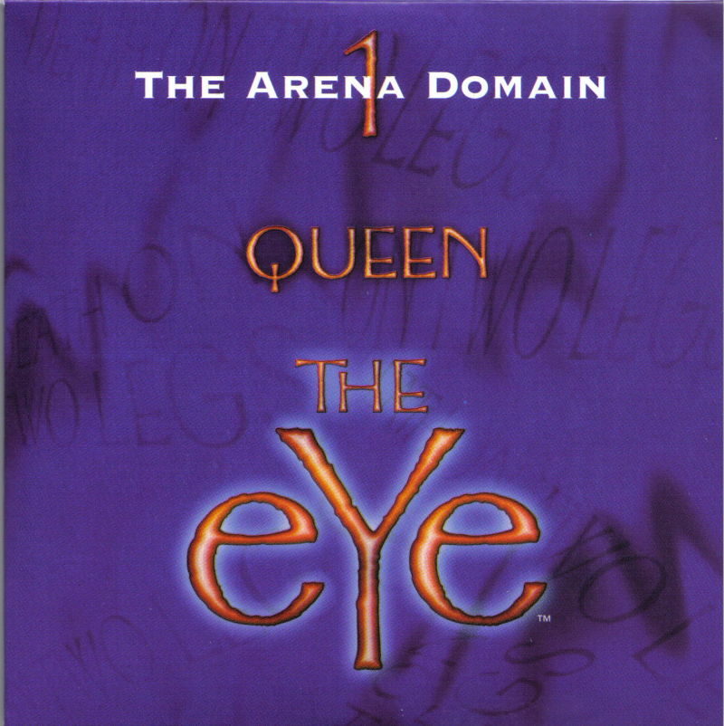 Queen: The eYe DOS Other LP Style Case - Disc 1/5 - Front
