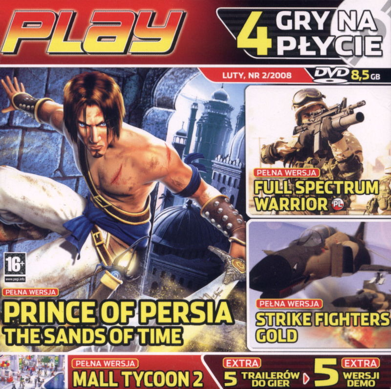 Prince Of Persia The Sands Of Time 2003 Windows Box Cover Art Mobygames