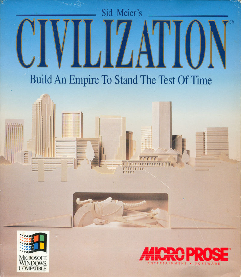 Sid Meier's Civilization Windows 3.x Front Cover