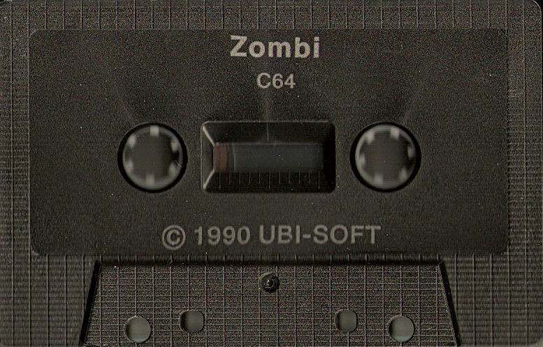 Zombi Commodore 64 Media