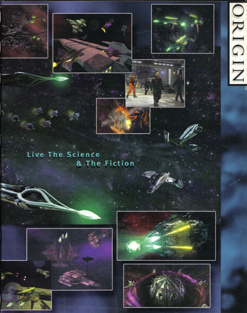 Wing Commander: Prophecy Windows Inside Cover Right Flap