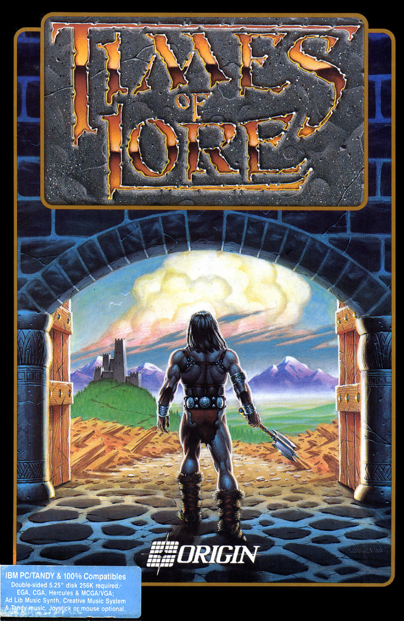 Times of Lore DOS Front Cover