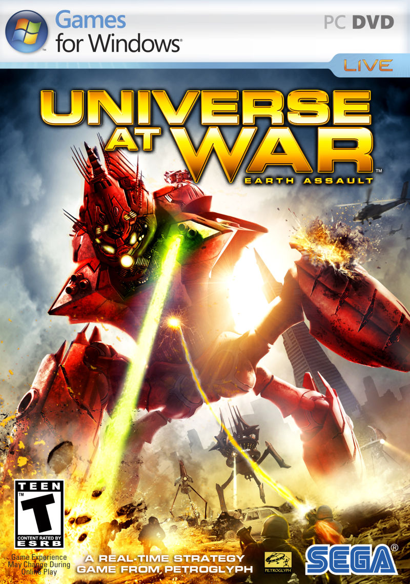 Universe at War: Earth Assault Windows Front Cover